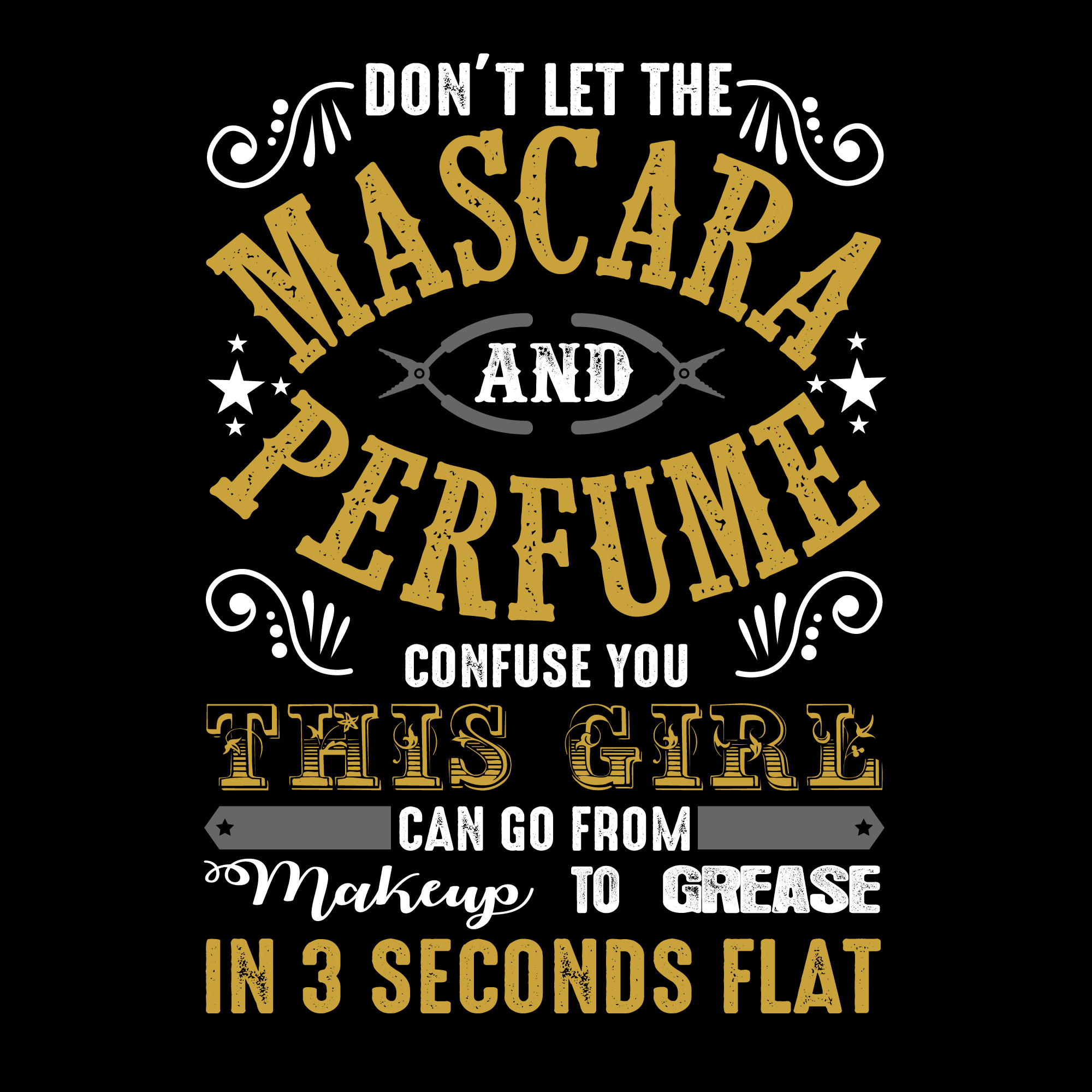 Don't let the mascara