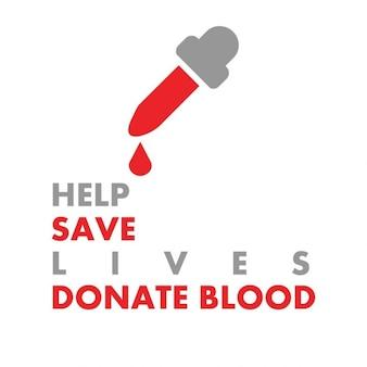 Donare il sangue save lives manifesto