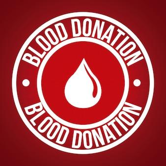 혈액 디자인 기부