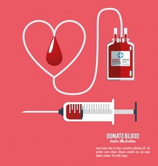 Donate blood equipment care