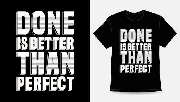 Готово лучше, чем идеальный дизайн футболки с типографикой