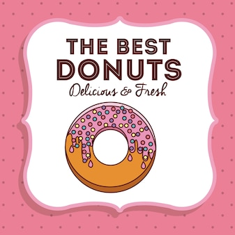 Donut digital design