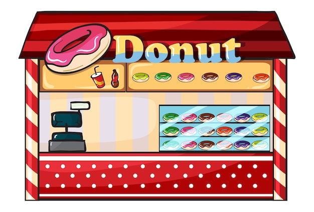 A donut shop