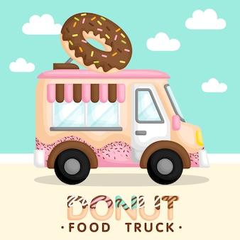 Donut truck pink