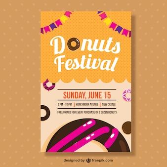 도넛 축제 안내 책자