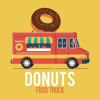 Donuts food truck
