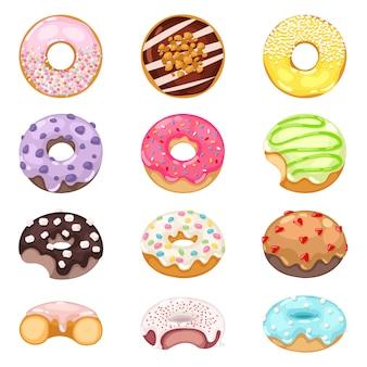 Donuts  set.