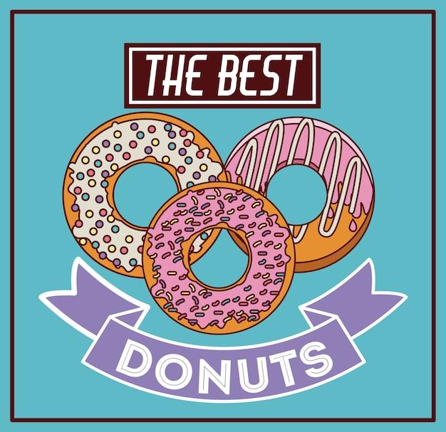 Donuts shop digital design