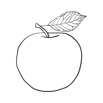 おしゃれなリンゴベクトル