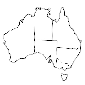 Australia Map Vector Ai.Australia Vectors Photos And Psd Files Free Download