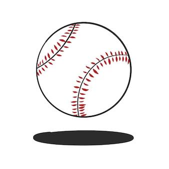 Doodle baseball Free Vector