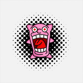 Doodle chewing gum