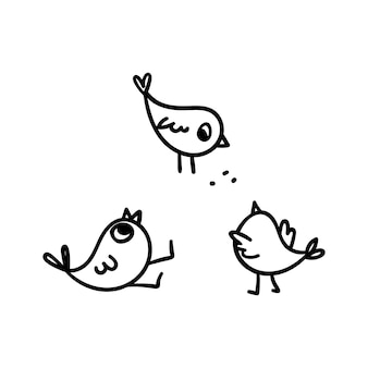 낙서 병아리