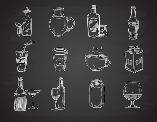 Doodle drinks