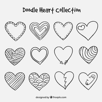 落書き心臓コレクション