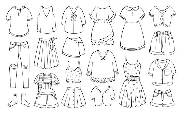 Каракули набор женской одежды на весну и лето