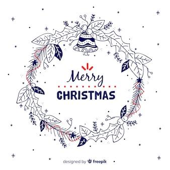Doodleクリスマスリース