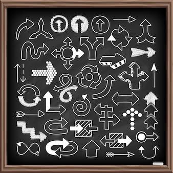 Doodle набор символов стрелки