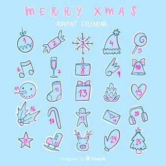 Doodles advent calendar
