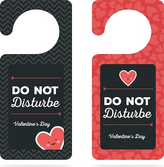 Door hanger valentines day