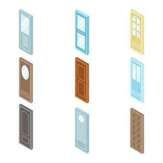 Дверь изометрические