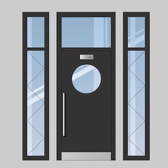 Дверь на террасу