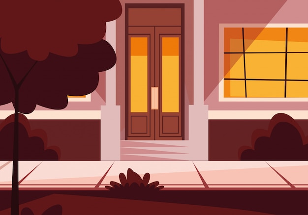 Door and window house