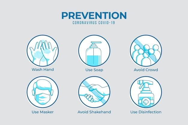 Dos and don'ts prevention infographic