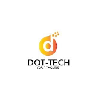 ドット接続技術-ロゴテンプレート