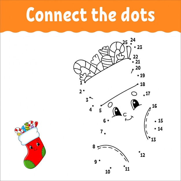 Premium Vector Dot To Dot. Draw A Line. Handwriting Practice. Learning  Numbers For Kids. Activity Worksheet. With Answer.