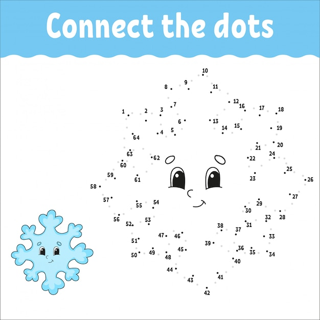 Dot to dot. draw a line. handwriting practice. learning numbers for kids. activity worksheet. with answer.