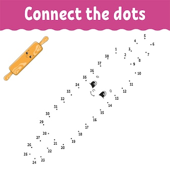 Dot to dot game