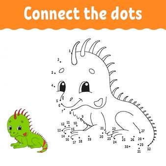 Dot to dot game