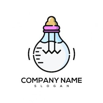 Dot light logo