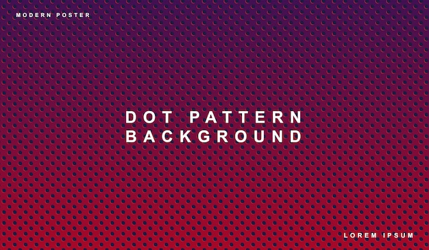 Dot pattern purple background