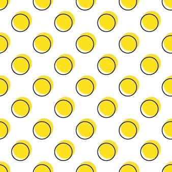 Узор из точек, абстрактный геометрический фон в стиле ретро 80-х, 90-х годов. красочная геометрическая иллюстрация