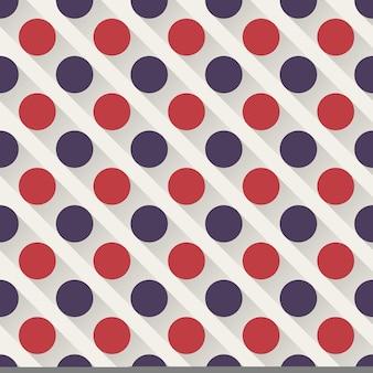 ドットパターン、抽象的な幾何学的な背景。クリエイティブでエレガントなスタイルのイラスト