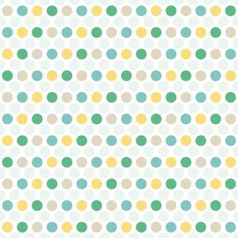 Узор из точек. геометрический простой фон. креативный и элегантный стиль иллюстрации