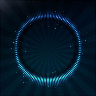 青い円が点在背景