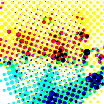 Mezzitoni sfondo colorato
