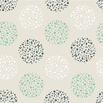 Dotted circles pattern background