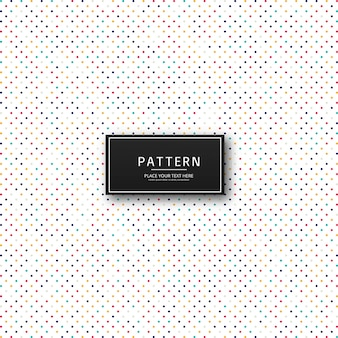 Dotted colorful pattern design