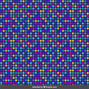 Dotted colorful pattern