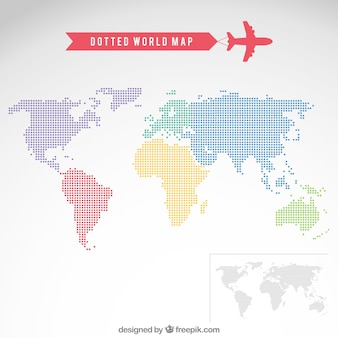 Dotted world map vectors photos and psd files free download gumiabroncs