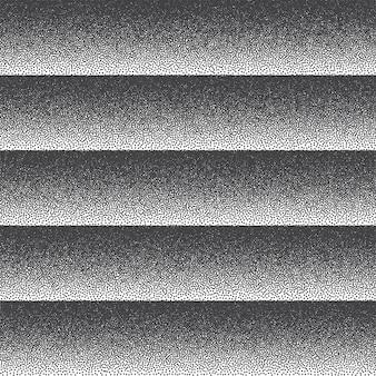 Dotwork texture black and white striped