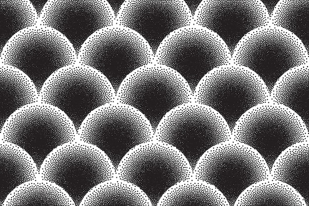 Dotwork vector abstract background