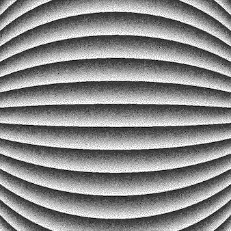 Гладкие линии dotwork фон