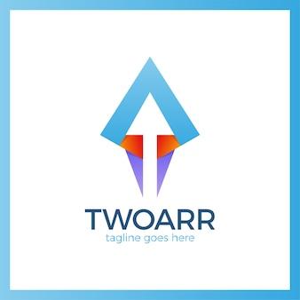 Double arrow icon.