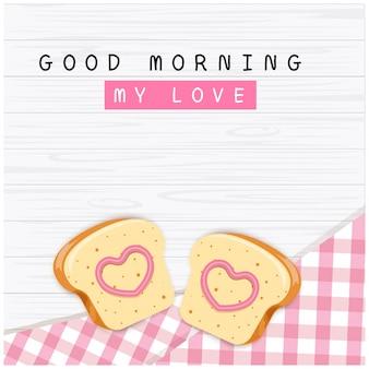 Double bread in love