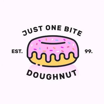 Дизайн логотипа donut